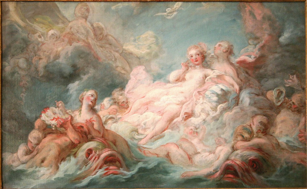 Painting: Fragonard Birth of Venus