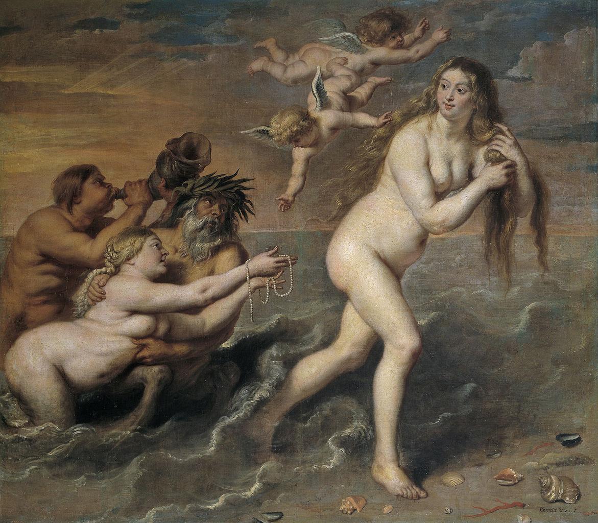 Painting: de Vos Birth of Venus