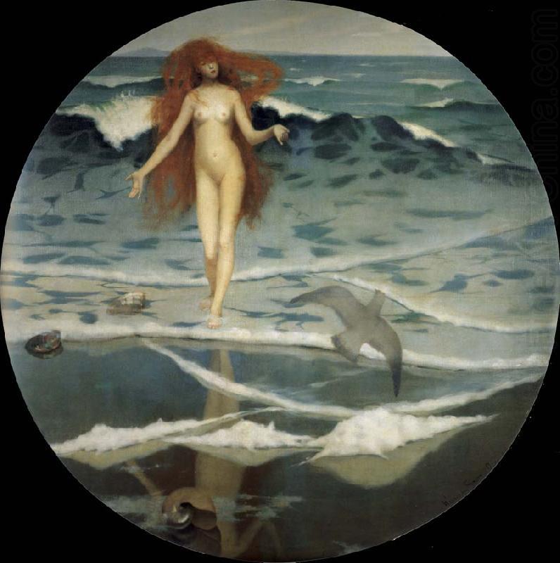 Painting Stott Birth of Venus