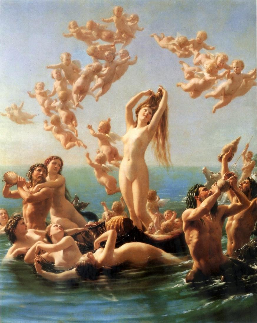 Painting: Zuber-Buhler Birth of Venus