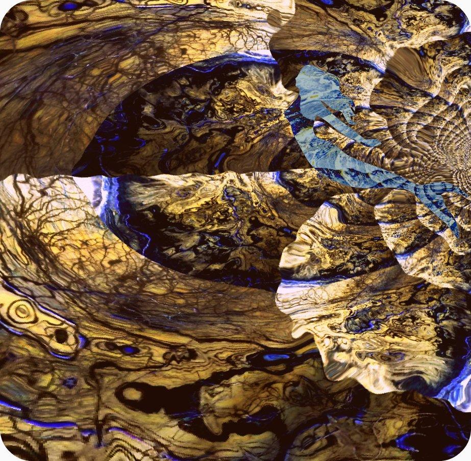 abstract photo Birth of Venus