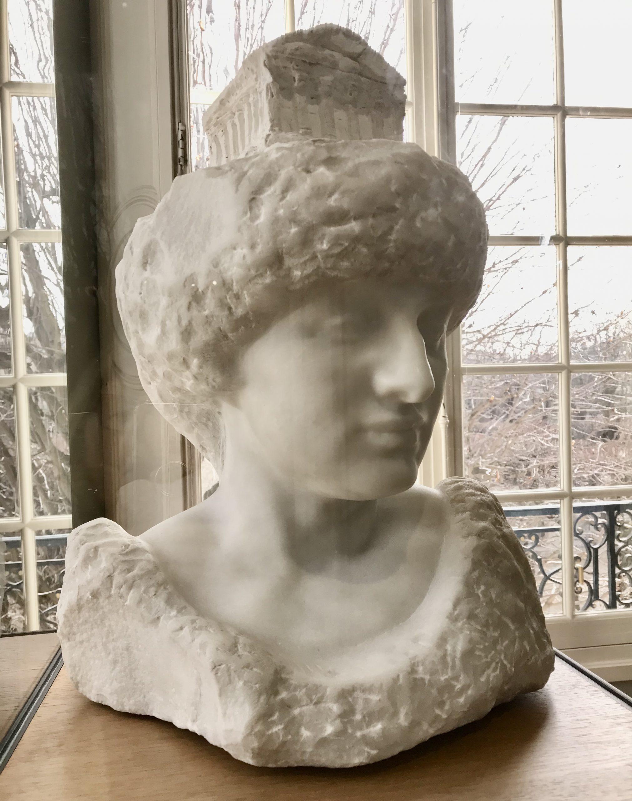Pallas Athena with the Parthenon on her head